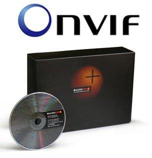 Macroscop поддерживает ONVIF.